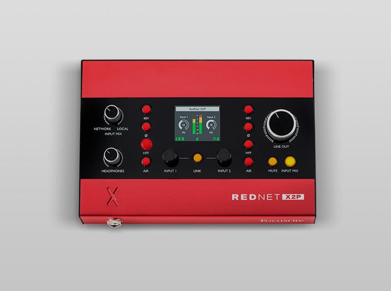 NOVINKA-Focusrite RedNet X2P
